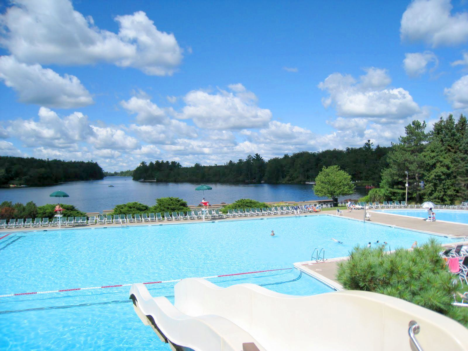 There are tons of things to do in Lake Naomi - The Lake Naomi Club Pool - Feels Like Heaven - A Premium Poconos Vacation Rental in Pocono Pines, PA