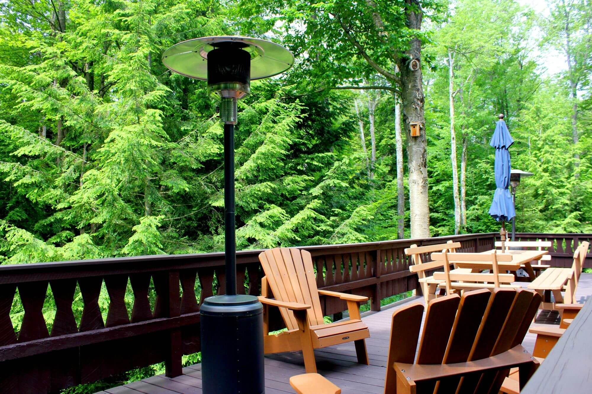 A Unique Poconos Vacation Rental - A Gigantic Second Floor Deck