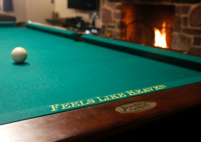 Feels Like Heaven - 5 Bedroom Poconos Vacation Rental - The Pool Table In The Family Room